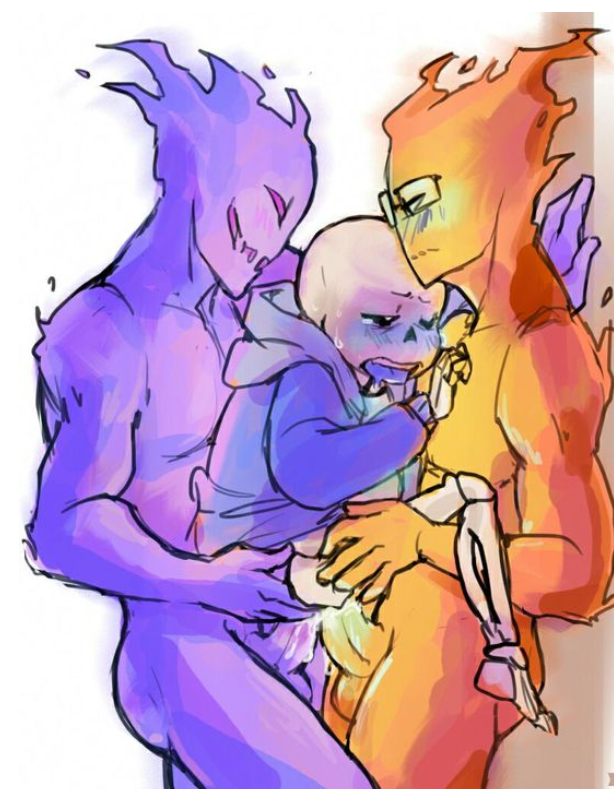 underfell x underfell sans papyrus Spike and rarity having sex