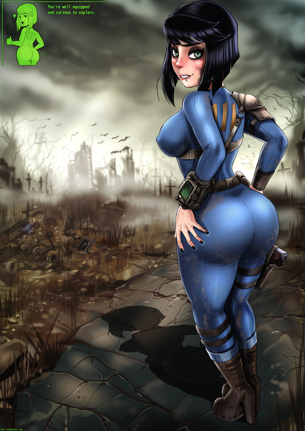 jumpsuit vault 4 fallout 75 Under observation my first loves