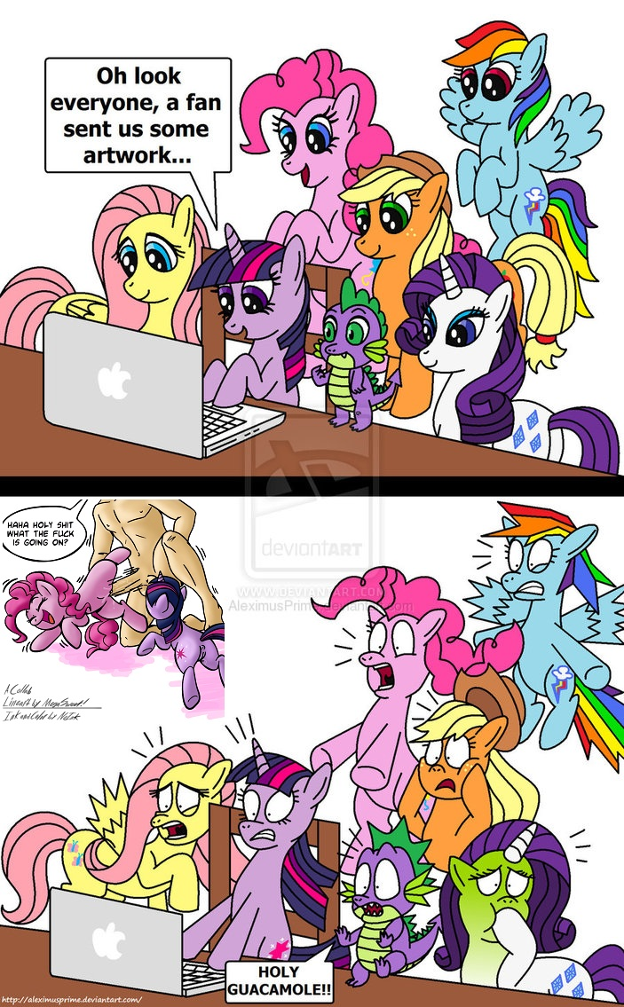 comic my pony naked little A new discovery for ariel