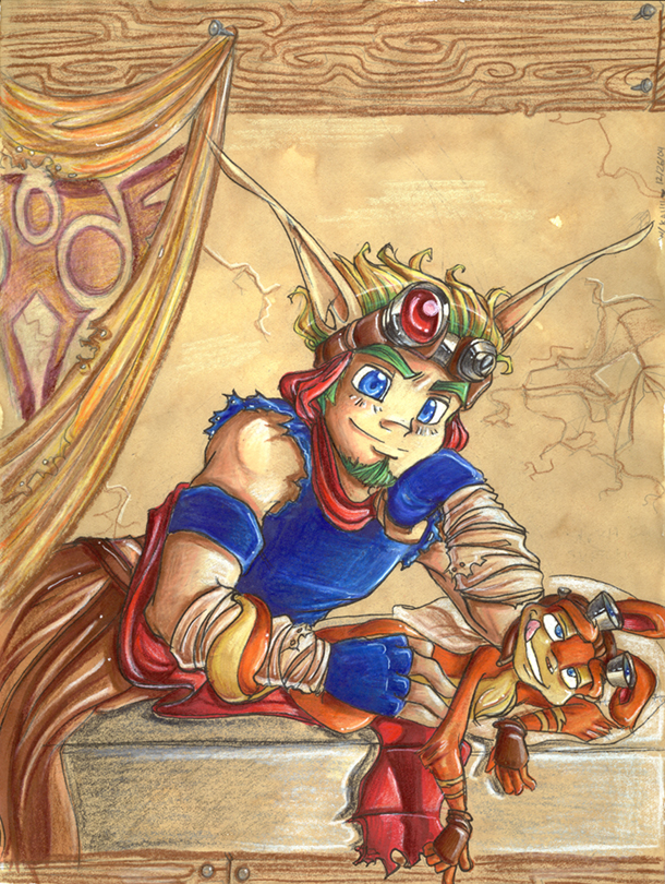 daxter characters jak female and Hundred is emile a girl