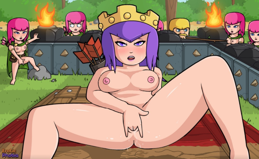clans hentai of witch clash Street fighter cammy porn gif